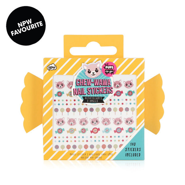 NPW Gifts: Pups To Go - Chew-Wawa Nail Stickers