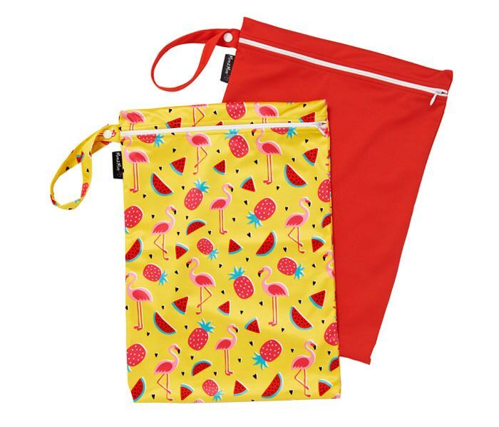 Mum 2 Mum: Wet Bag - Flamingo / Red (2 Pack)
