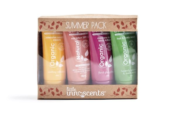 Little Innoscents: Organic Summer Travel Pack 30ML X4