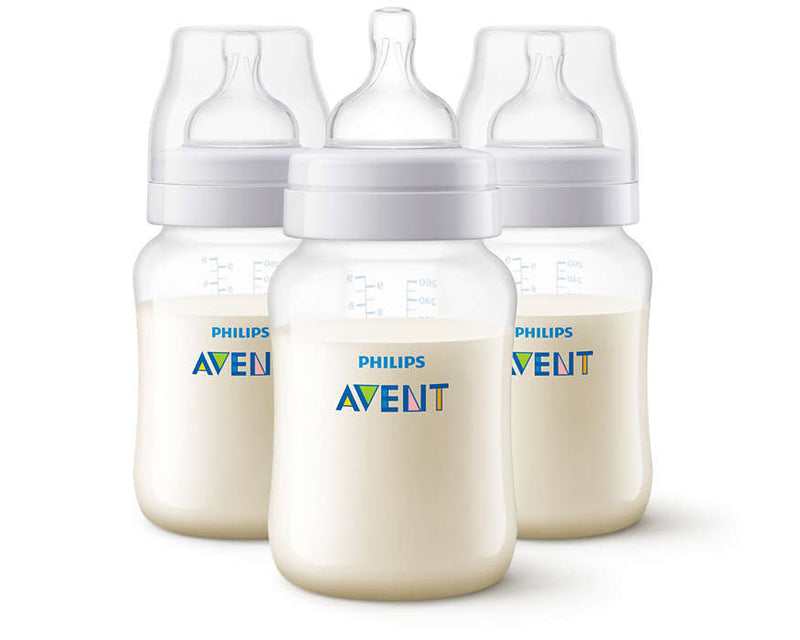 Philips Avent Anti-Colic Bottle - 260ml (3 Pack)