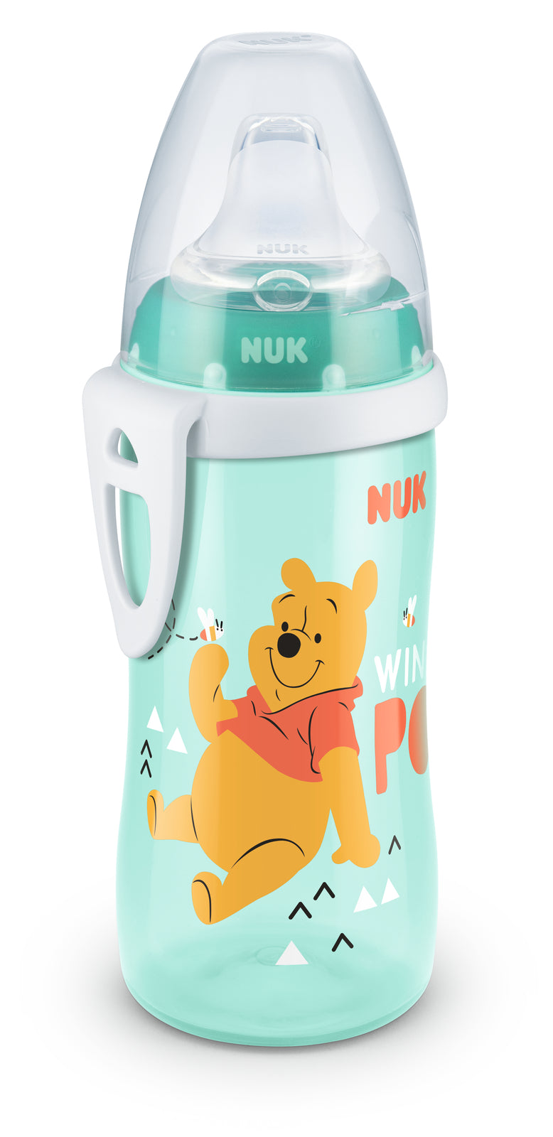 NUK: Active Cup with Silicone Spout 300ml - Winnie the Pooh (Assorted Designs)