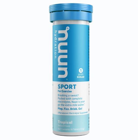 Nuun Sport Hydration Tablets - Tropical Fruit