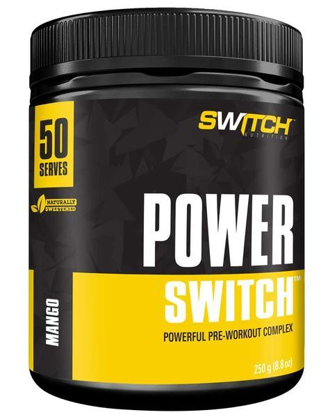Power Switch - Powerful Pre-Workout Complex - Mango (50 Serves)