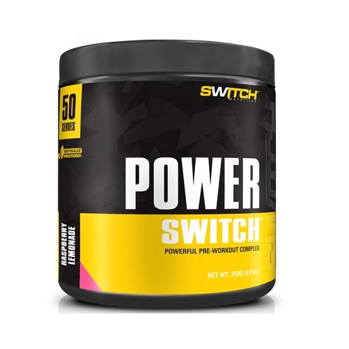 Power Switch - Powerful Pre-Workout Complex - Raspberry Lemonade (50 Serves)