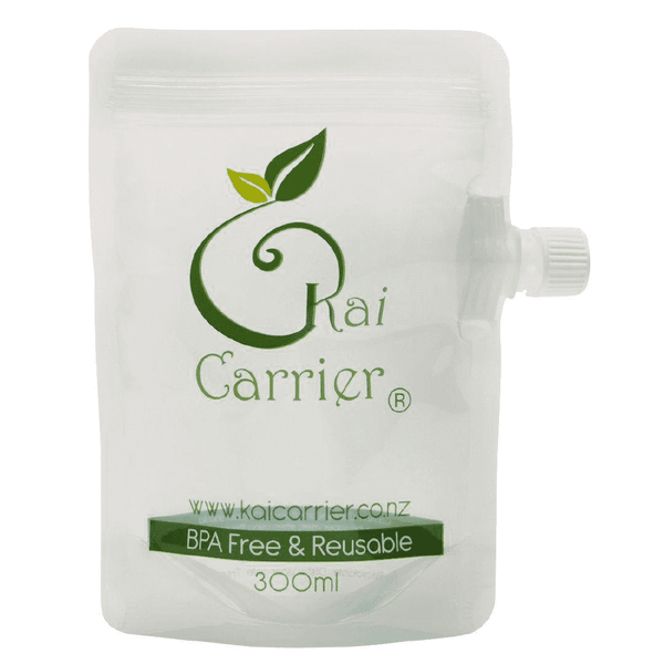 Kai Carrier Reusable Food Pouches - 5 Pack (300mL)