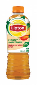 Lipton Ice Tea Lightly Sweetened Peach & Nectarine 500ml (12 Pack)