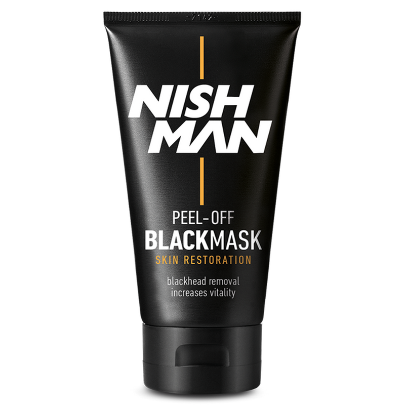 Nishman: Peel-Off Mask - Black (150ml)
