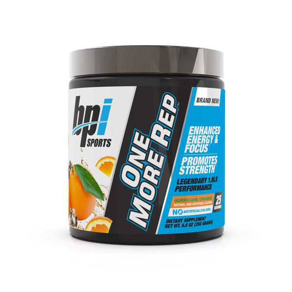 BPI: One More Rep Pre-Workout - Hurricane Orange (25 Serve)