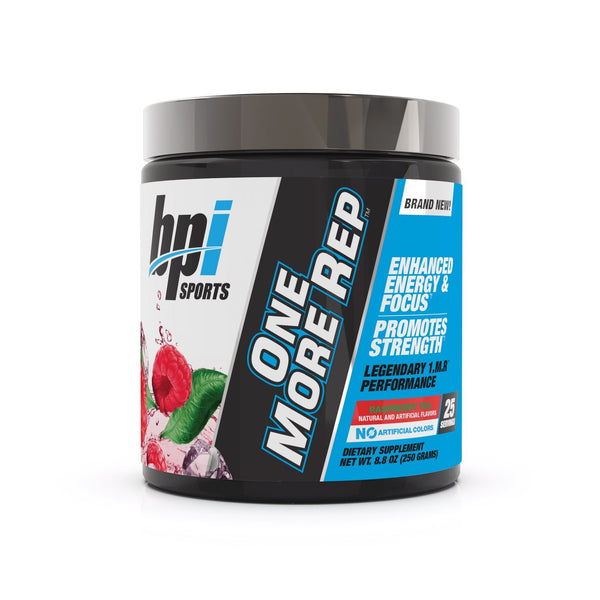 BPI: One More Rep Pre-Workout - Raspberry Tea (25 Serve)