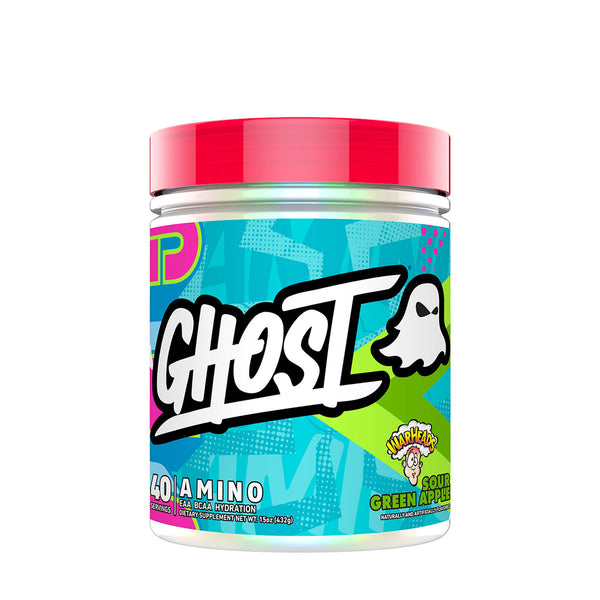 Ghost: Amino V2 - Warheads Sour Green Apple (40 Serve)