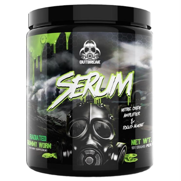 Outbreak Nutrition: Serum V2 Pre-Workout - Fruit Punch (25 Serve)