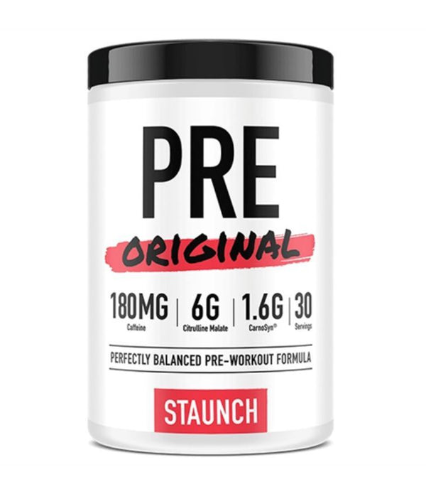 Staunch Nutrition: Pre Original - Aussie Apple (30 Serve)