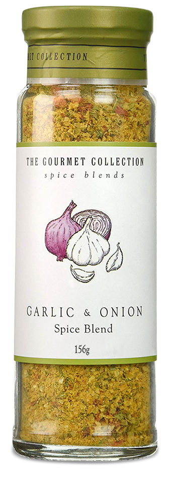 The Gourmet Collection Spice Blends - Garlic And Onion (156g)