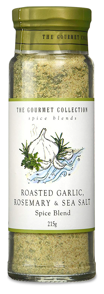 The Gourmet Collection Spice Blends - Roast Garlic, Rosemary and Sea Salt (215g)