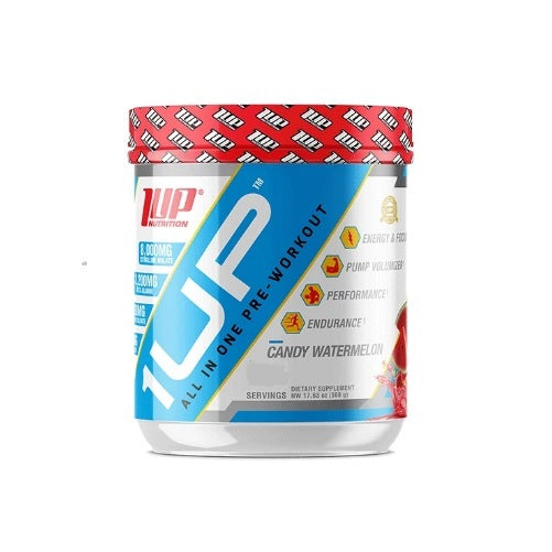 1Up Nutrition: All In One Pre-Workout - Candy Watermelon (30 Serve)