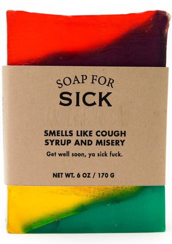 Whiskey River Co: Soap - For Sick F*cks