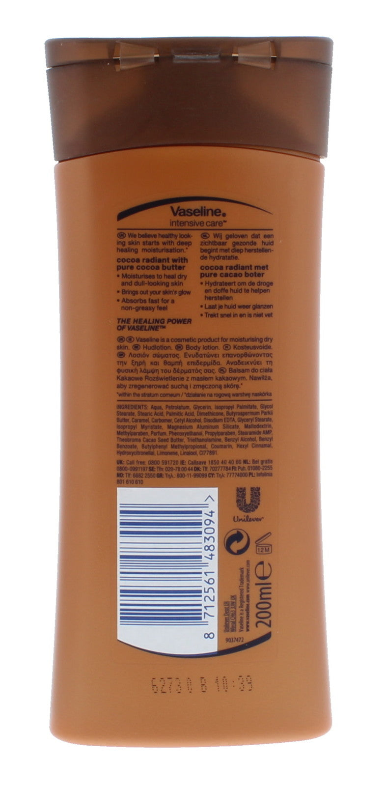 Vaseline: Body Lotion Cocoa Radiant (200 ml)