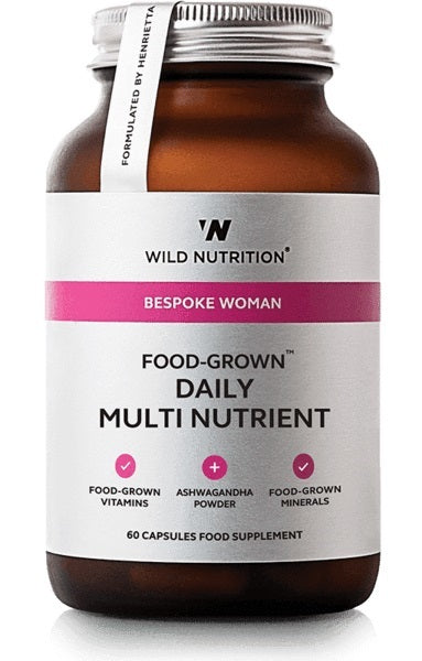 Wild Nutrition Food Grown Womans Daily Multi Nutrient (60 Caps)