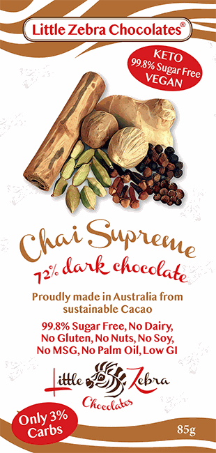 Little Zebra Chocolates: Chai Supreme