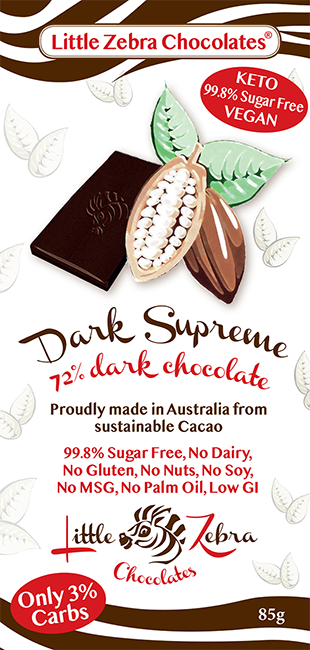 Little Zebra Chocolates: Dark Supreme