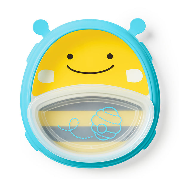 Skip Hop: Zoo Smart Serve Plate & Bowl - Bee