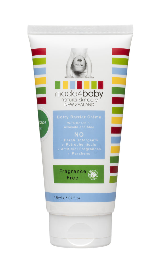 Made4Baby: Botty Barrier Cream - Fragrance Free (150ml)