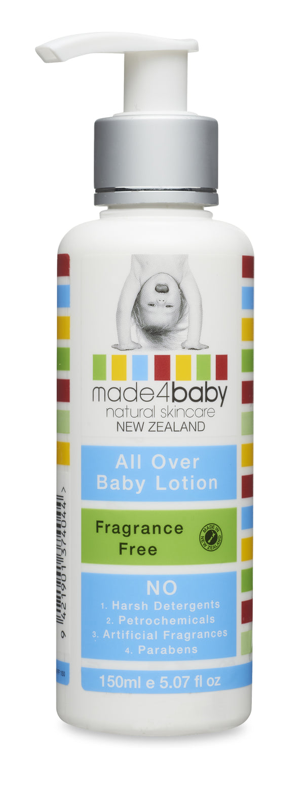 Made4Baby: All Over Baby Lotion - Fragrance Free (150ml)