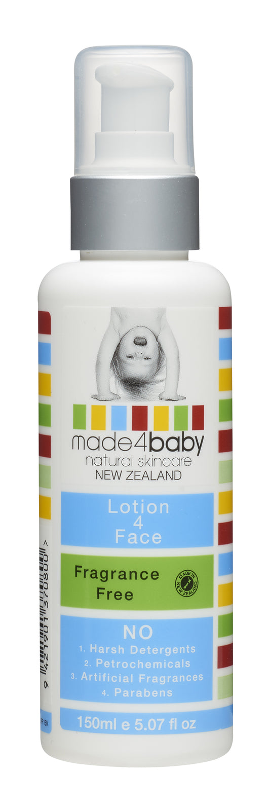 Made4Baby: Lotion 4 Face - Fragrance Free (150ml)
