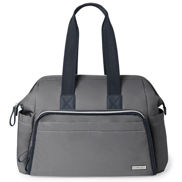 Skip Hop: Main Frame Wide Open Satchel - Slate
