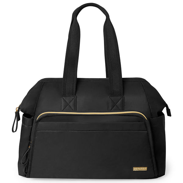 Skip Hop: Main Frame Wide Open Satchel - Black