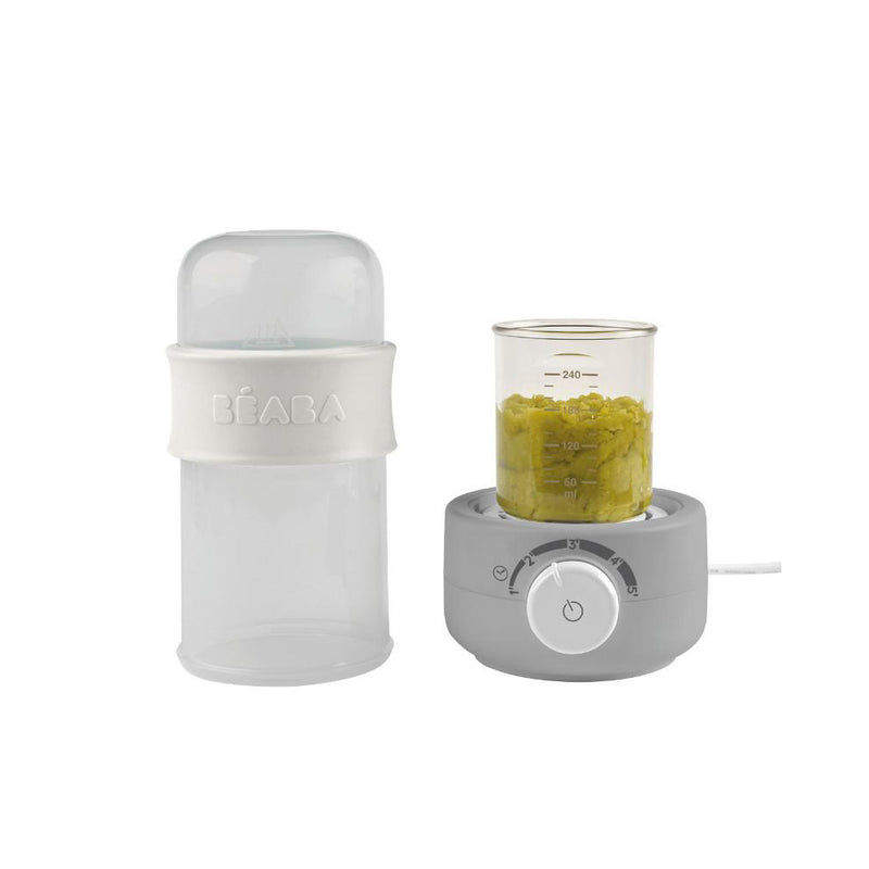 Beaba: Baby Milk Second Bottle Warmer - Grey