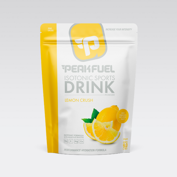 PeakFuel Electrolyte Hydration Drink - Lemon Crush (510g)