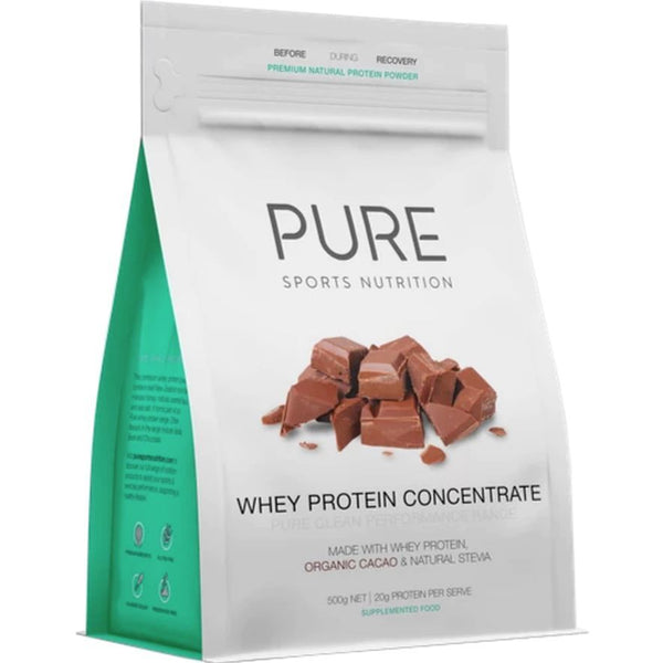 PURE Whey Protein Chocolate Pouch - (500g)