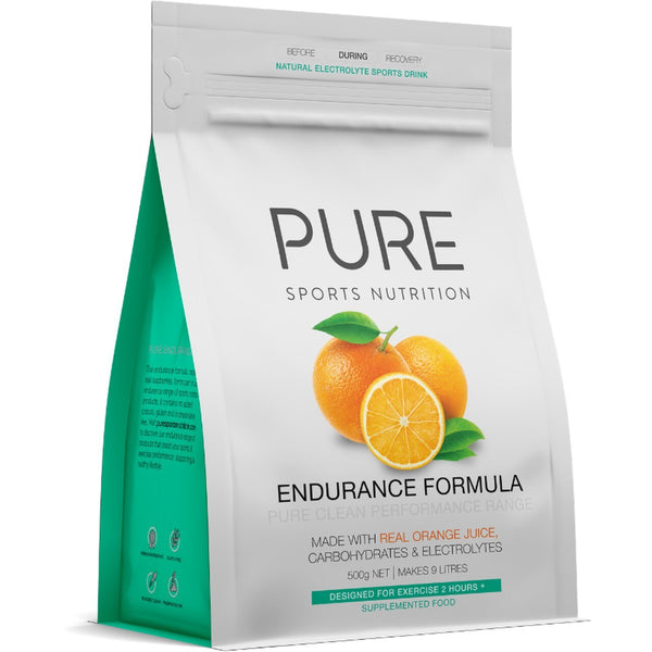 PURE Endurance Formula 500g - Orange