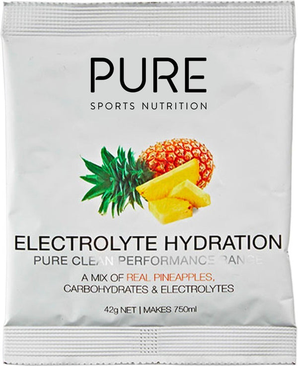 PURE Electrolyte Hydration Sachet Box - Pineapple (25x42g)