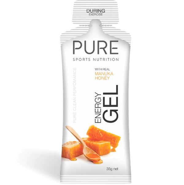 PURE Energy Gels - Manuka Honey (Box 24)