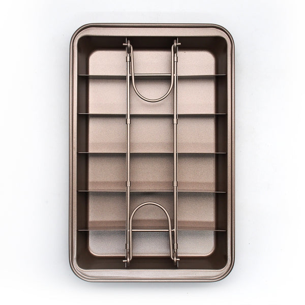 Ape Basics: Non-Stick Easy Release Mini Loaf Brownie Pan