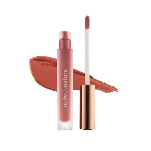 Nude by Nature Satin Liquid Lipstick 05 Sunkissed