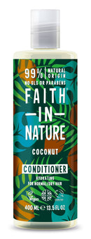 Faith In Nature: Coconut Conditioner for Normal, Dry Hair (400ml)