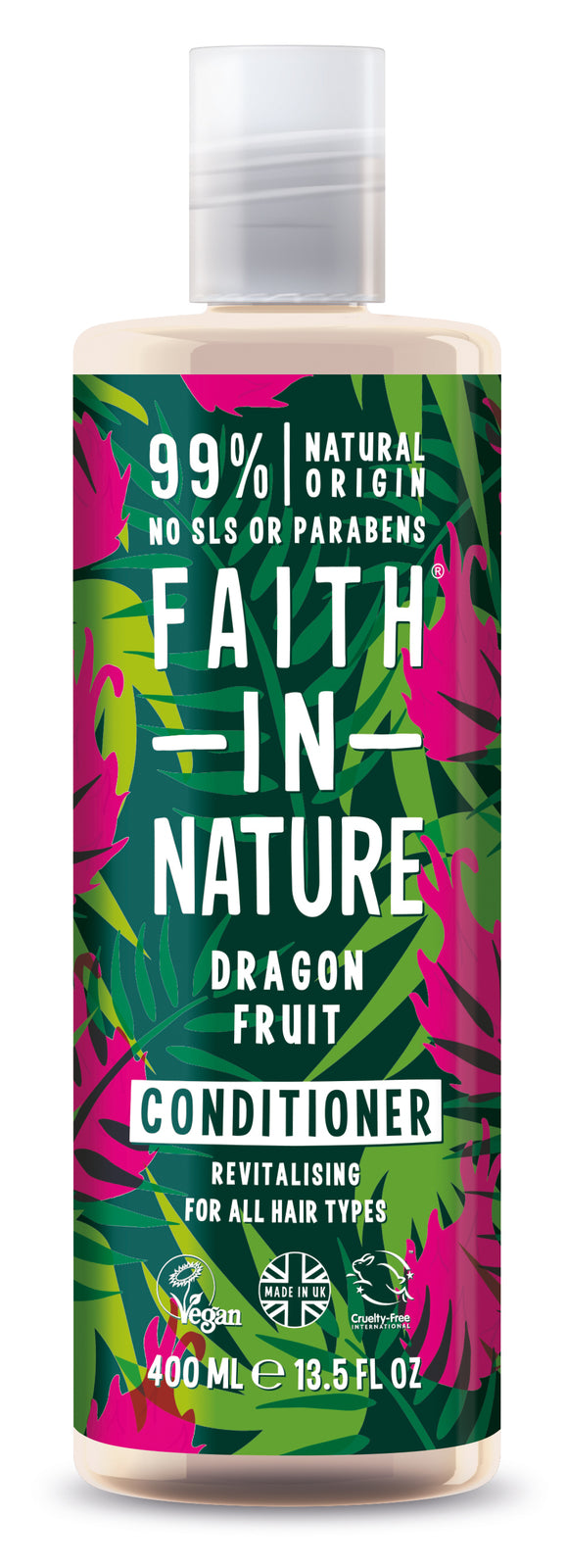 Faith In Nature: Dragon Fruit Conditioner for All Hair Types (400ml)