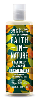 Faith In Nature: Grapefruit + Orange Conditioner for Normal/Oily Hair (400ml)