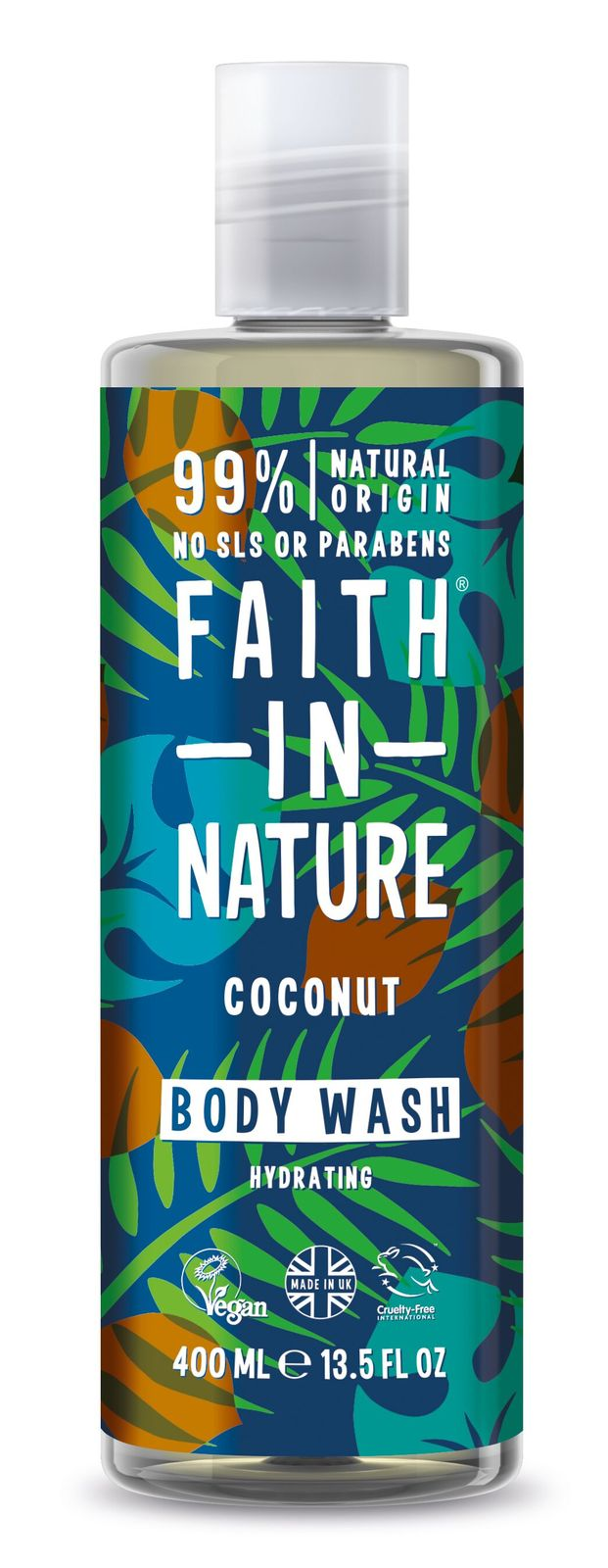 Faith In Nature: Hydrating Coconut Body Wash (400ml)