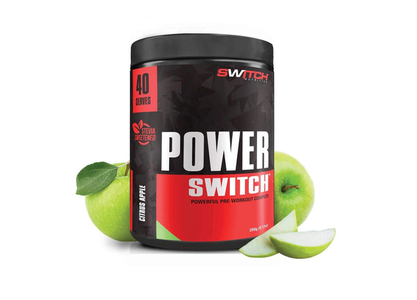 Switch Nutrition: Power Switch - Citrus Apple (40 Serve)