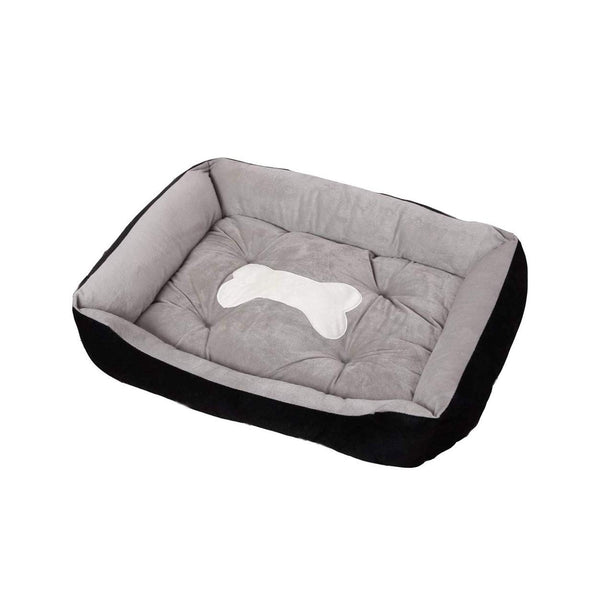 Ape Basics: Pet Kennel Warm Four Seasons Pet Mat - Grey (Large)