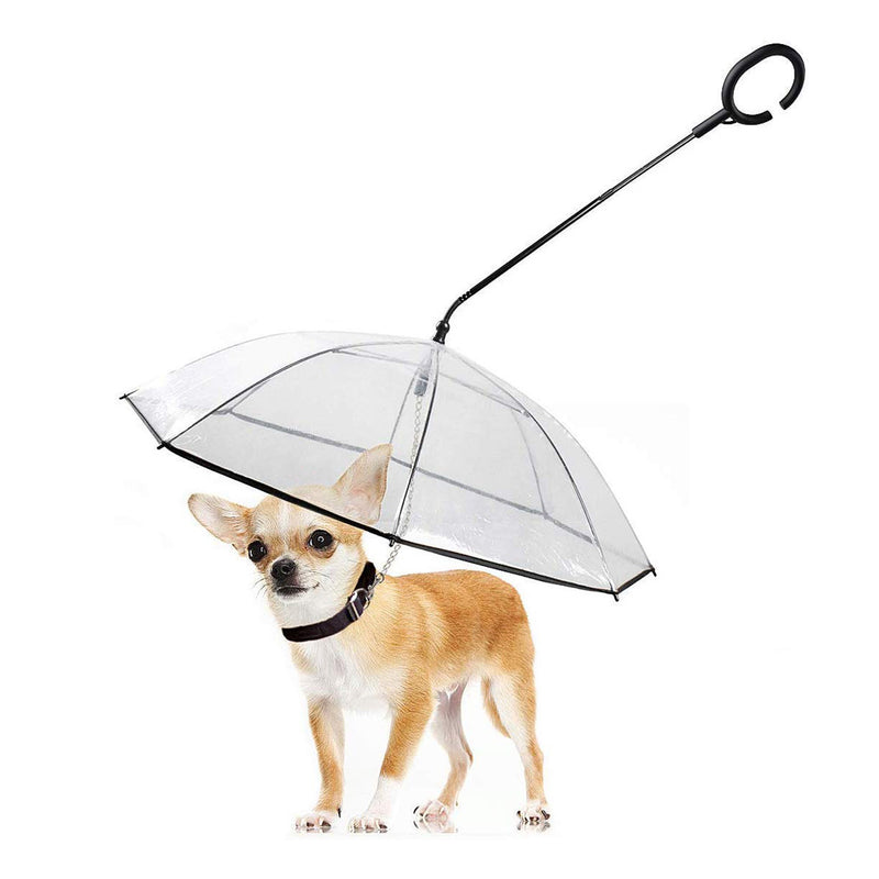 Ape Basics: Clear Pet Tow Rope Umbrella