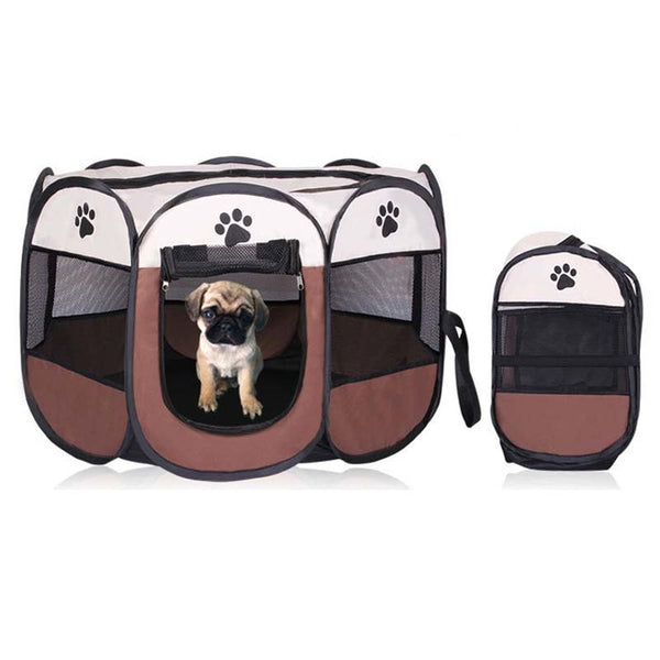 Ape Basics: Portable Playpen Dog House