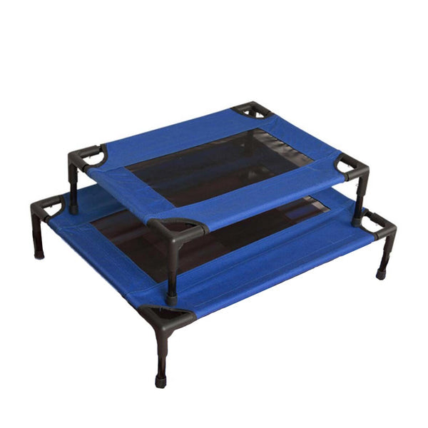 Ape Basics: Elevated Foldable Portable Pet Dog Bed - Large