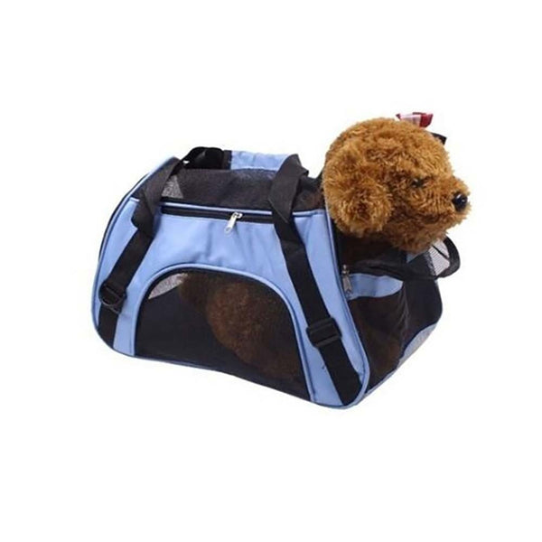 Ape Basics: Single Shoulder Pet Travel Bag Folding Mesh Handbag