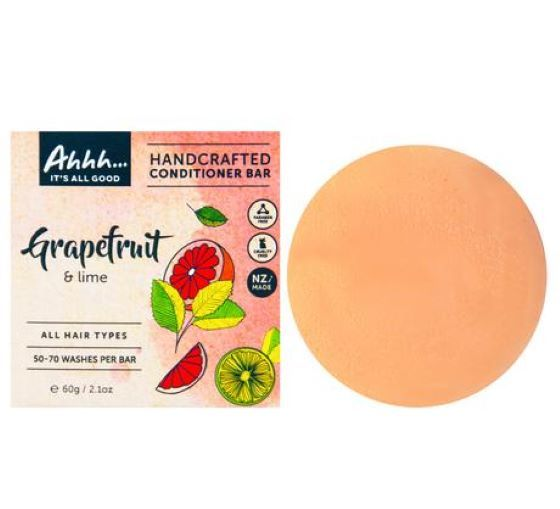 Ahhh Soaps: Conditioner Bar - Grapefruit and Lime (60g)