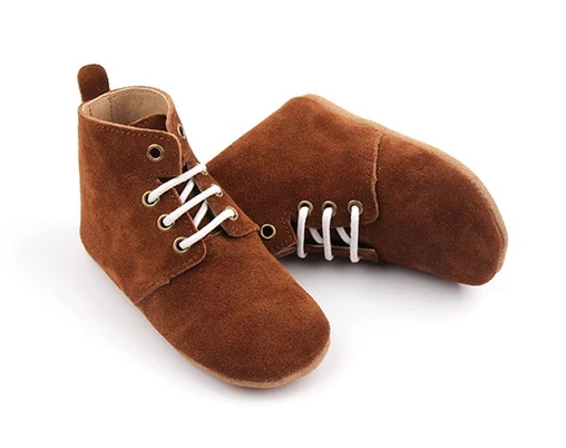 Wander: Oxford Boots - Moose (Small)